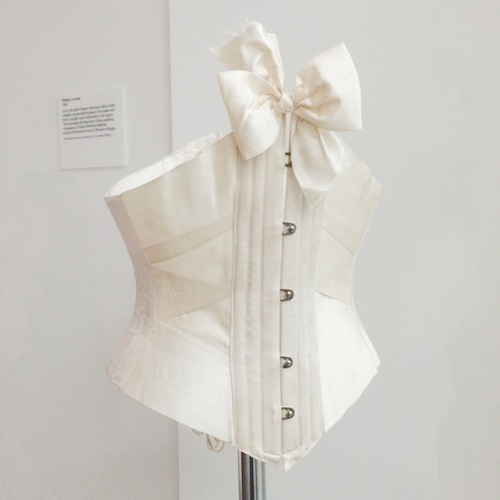 Onthenew Women Fashion Power Design Museum Ribbon Corset